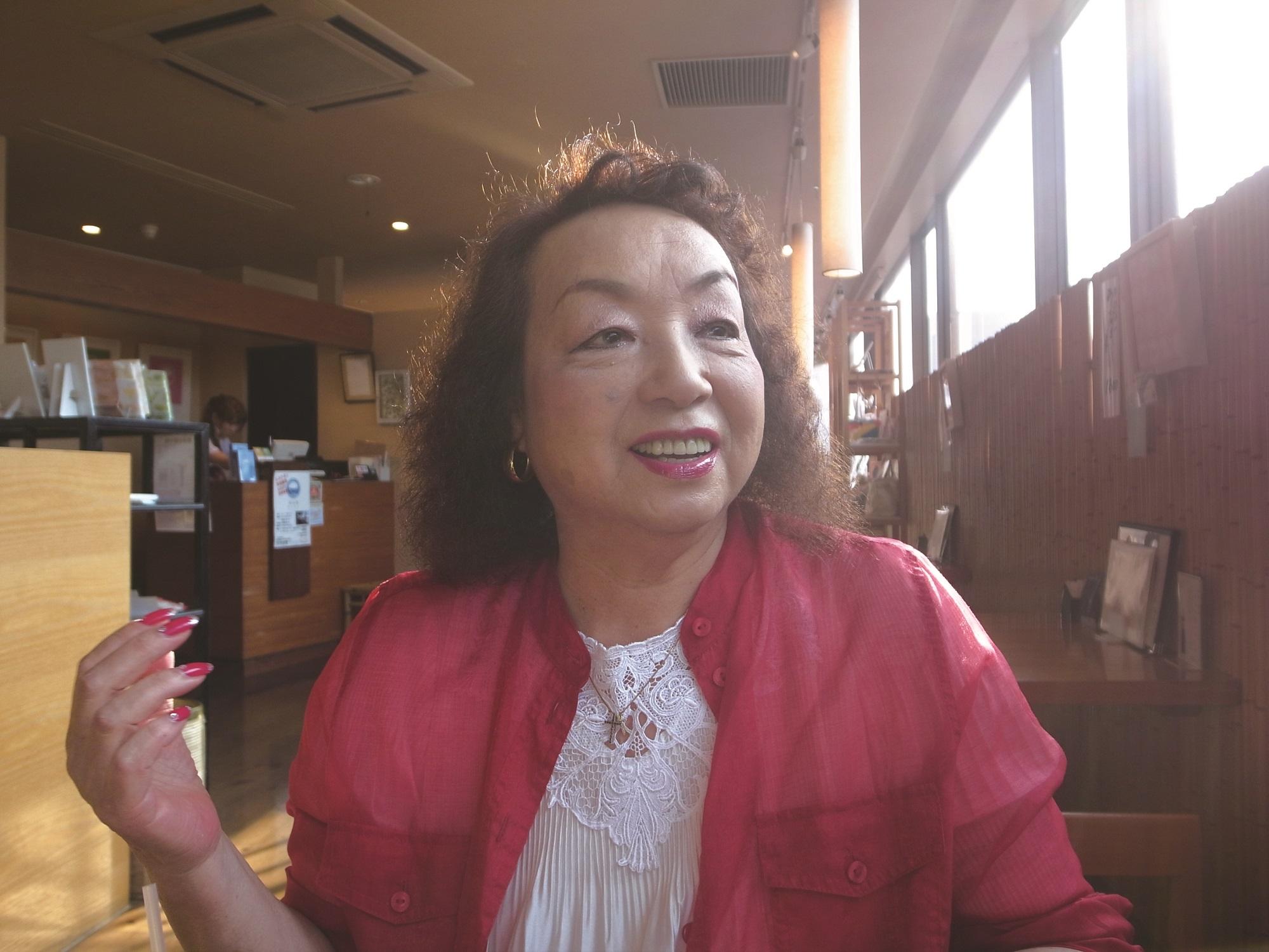私と井の頭公園 その6 冨岡俊子さん