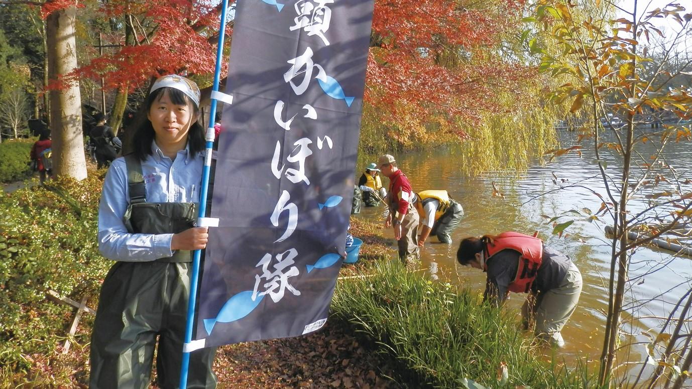 私と 井の頭公園 |その14「自然が創った大変貴重で尊い池」 片岡友美