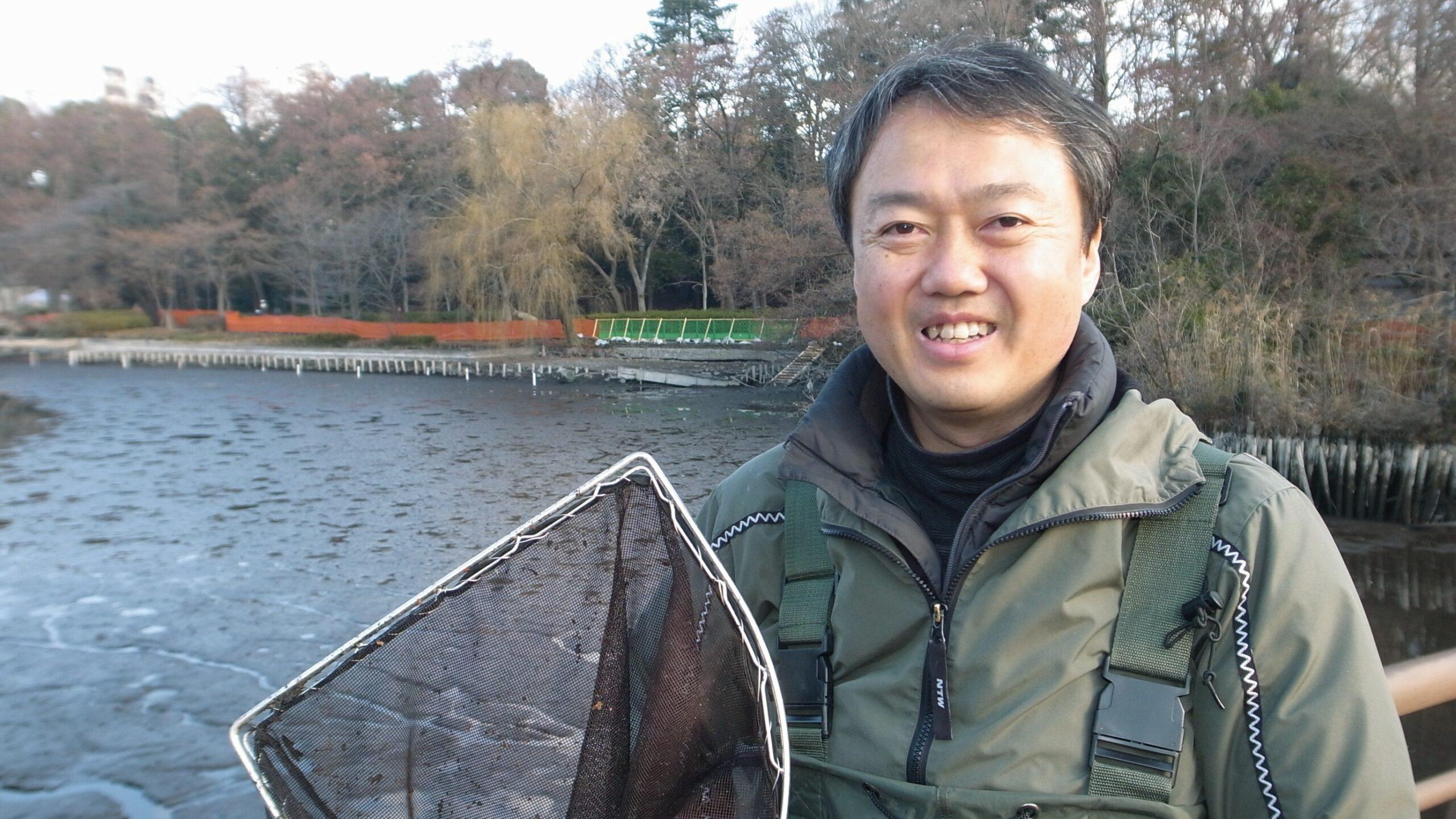 私と井の頭公園 その15 田中淳一さん
