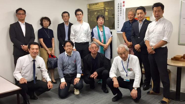 公益社団法人武蔵野法人会 広報委員会の皆さまが来社