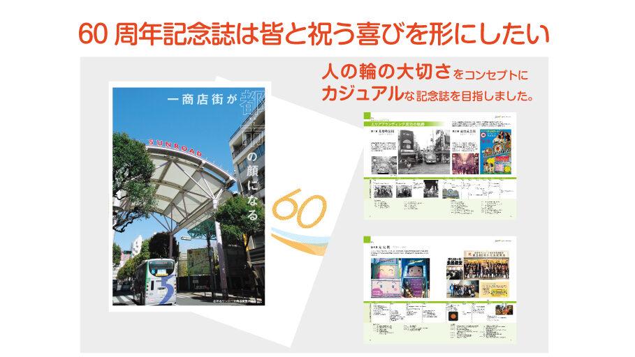 [制作事例]吉祥寺サンロード商店街振興組合様『創立60周年記念誌』