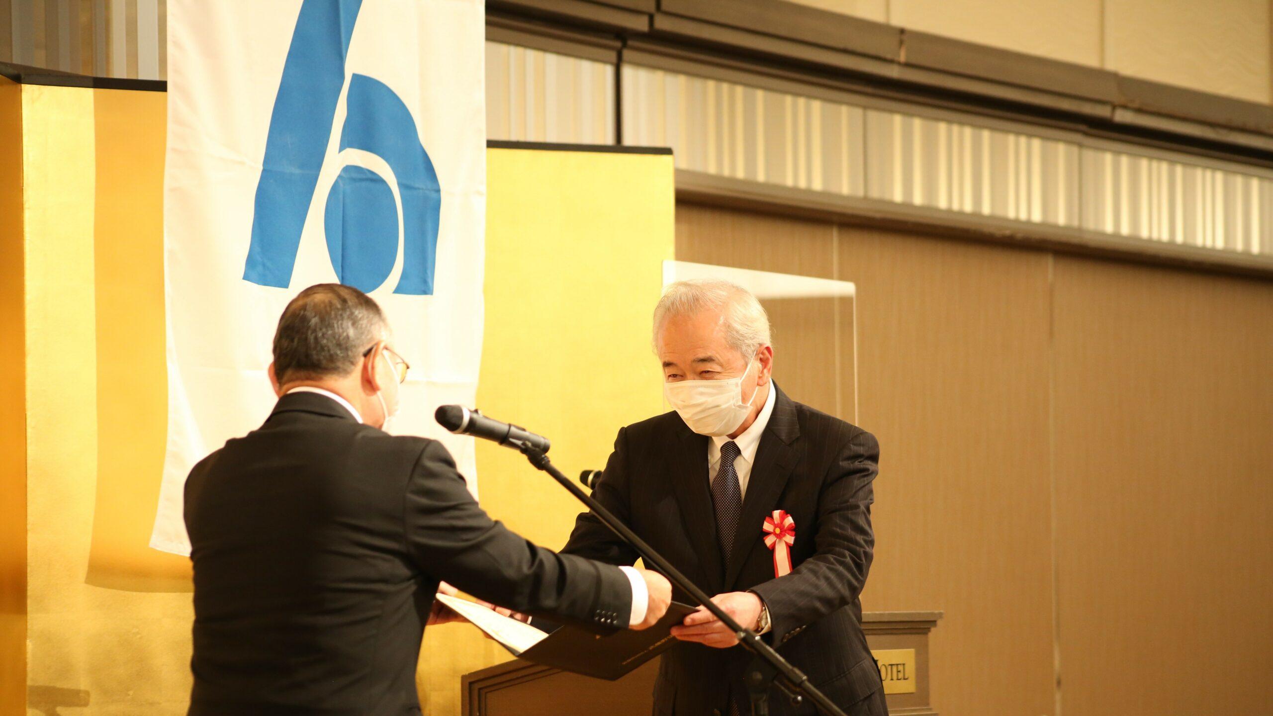 公益社団法人武蔵野法人会様より特別功労表彰を受けました